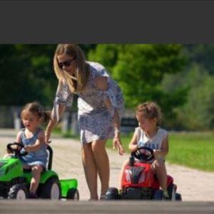Traktor na pedale sa prikolicom Landmaster Falk toys