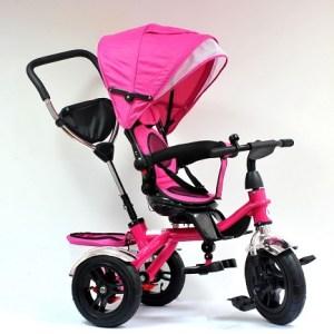 Tricikl Happybike sa rotirajućim sedištem i vazdušnim gumama