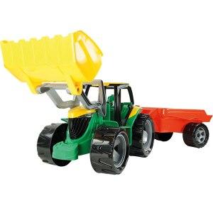 Traktor sa prikolicom i kašikom