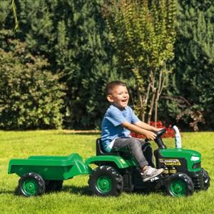 Traktor na pedale sa prikolicom Dolu