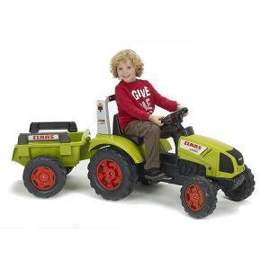 Traktor na pedale sa prikolicom Claas Arion 430