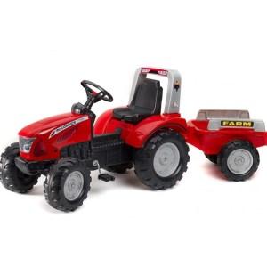 Traktor na pedale Falk MacCormick X7 sa prikolicom 3020ab
