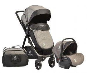 Kolica za bebe Stefanie 3u1
