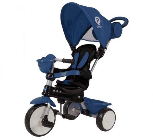 Tricikl QPlay 4u1 Comfort Plavi