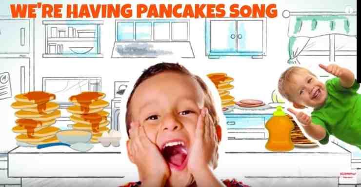 Yes We're Having Pancakes Song