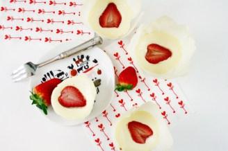 Mini Erdbeer Cheesecakes