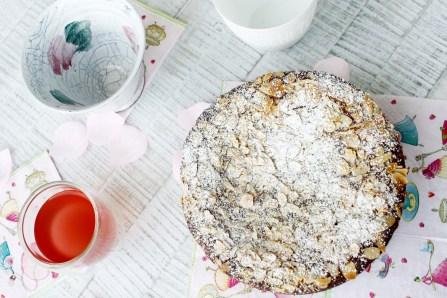 Nuss-Ricotta-Kuchen