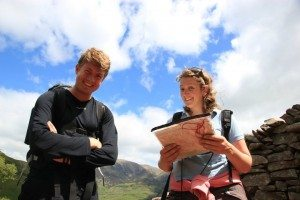 Map reading in the Lake District