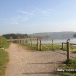 Path linking car parks at Chew Valley Lake