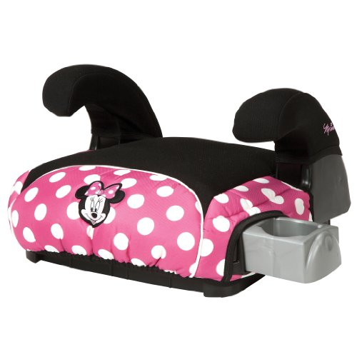 Disney Deluxe Belt Positioning Booster Car Seat Minnie Dot
