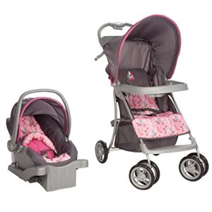 Disney Baby Sprinter Go Lightly Travel System, Sweet Minnie