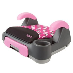 Disney Store and Go Backless Booster Car Seat, Minnie Silhouette Pink