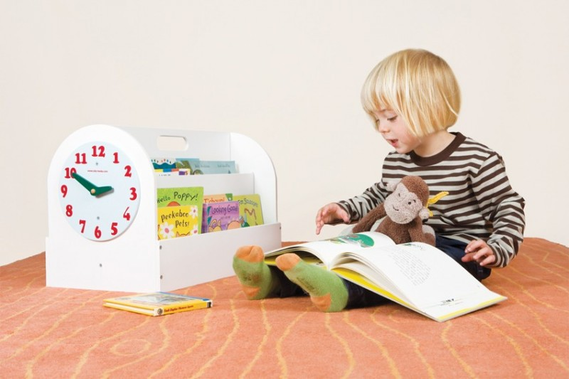 Aufbewahrung Bucher Kinderzimmer