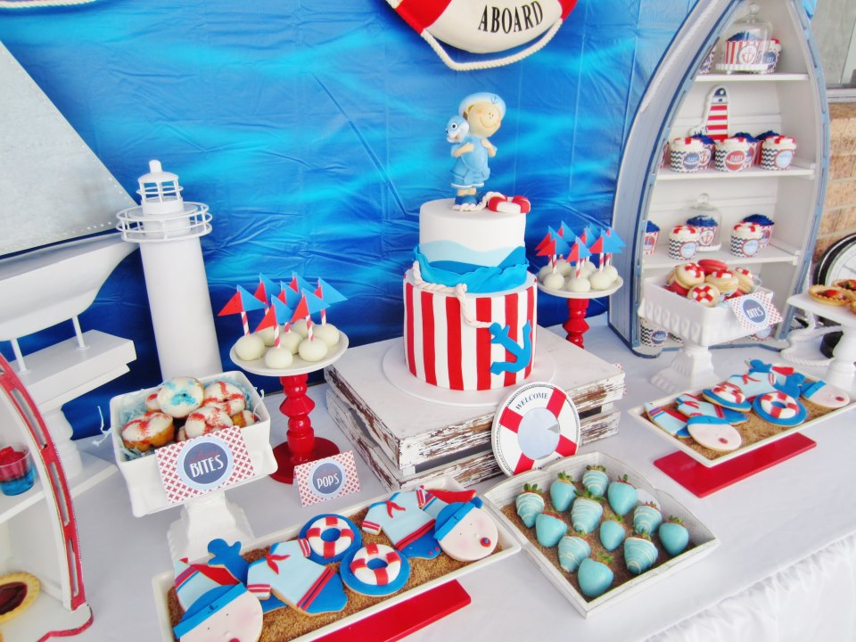 It's A Boy Nautical Baby Shower  Baby Shower Ideas