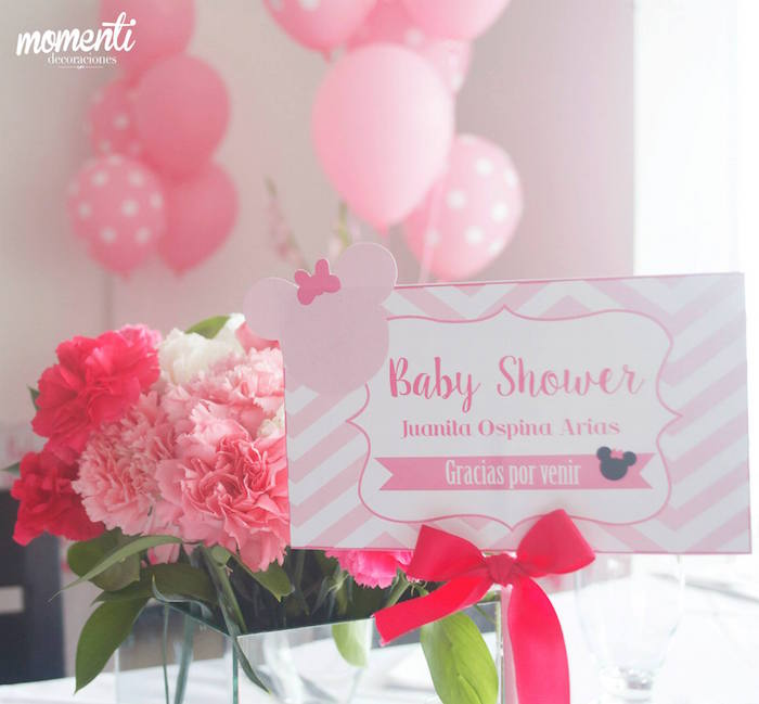 Pink Minnie Mouse Baby Shower Baby Shower Ideas Themes