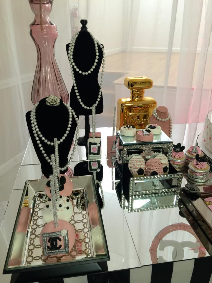Modern Chic Chanel Baby Shower Baby Shower Ideas