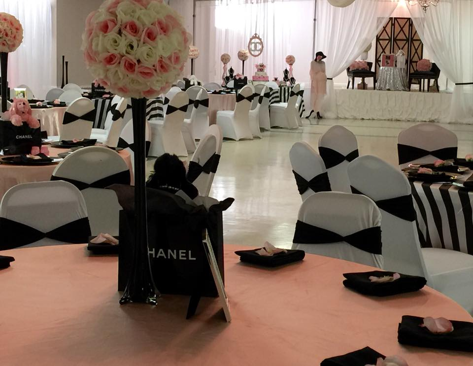 Modern Chic Chanel Baby Shower  Baby Shower Ideas
