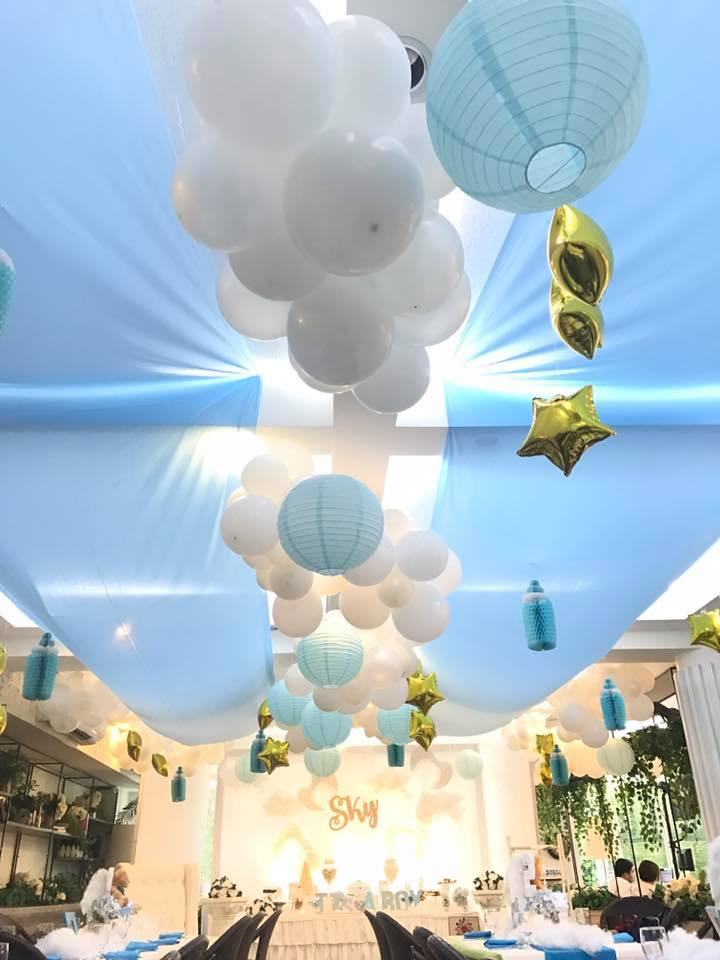 Sky Blue Baby Shower Baby Shower Ideas Themes Games