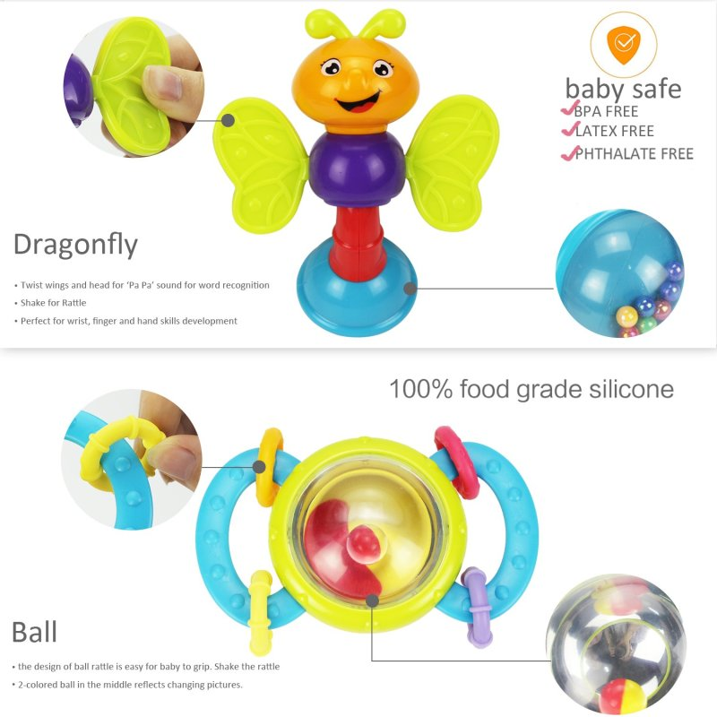 Dragonfly toy & Ball toy