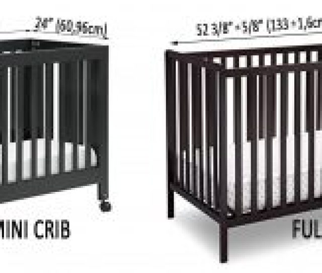 Best Mini Cribs For Small Spaces_small Cribs For Small Spaces Mini Vs Full
