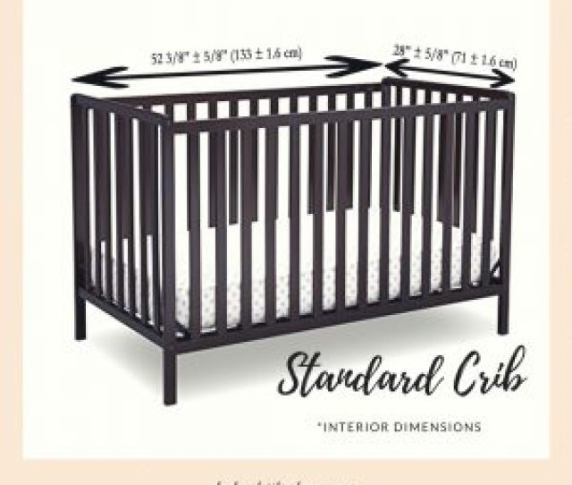 Standard Size Baby Crib Measurements And Facts