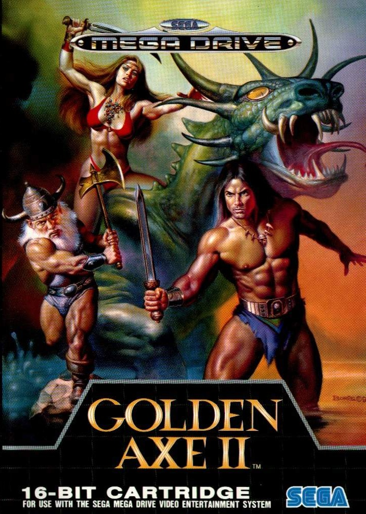 COVER ART: Golden Axe II (Mega Drive)
