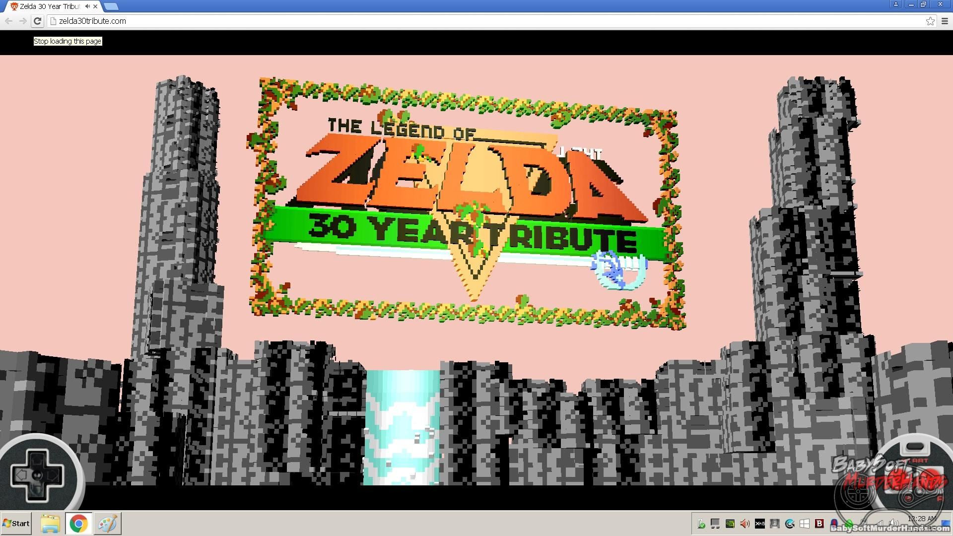 Cool 3D remake of the original Zelda runs in your browser