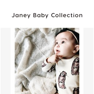 Babysoy x Janey Baby