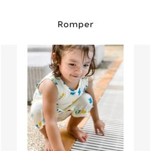 Kimono and Tank Romper