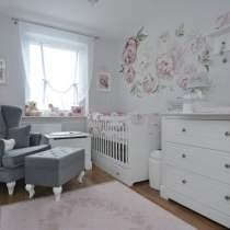 Babykamer Marylou ( doorgroeibed Marylou met lade + commode+ 2-deur kast )