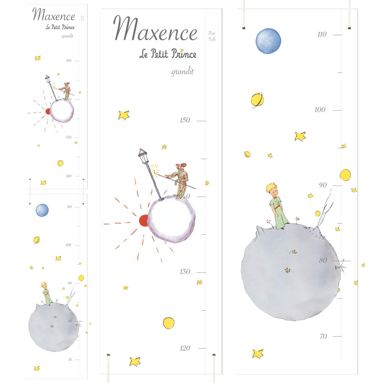 Charmant Toise Le Petit Prince Personnalisée Au Prénom De Votre Enfant