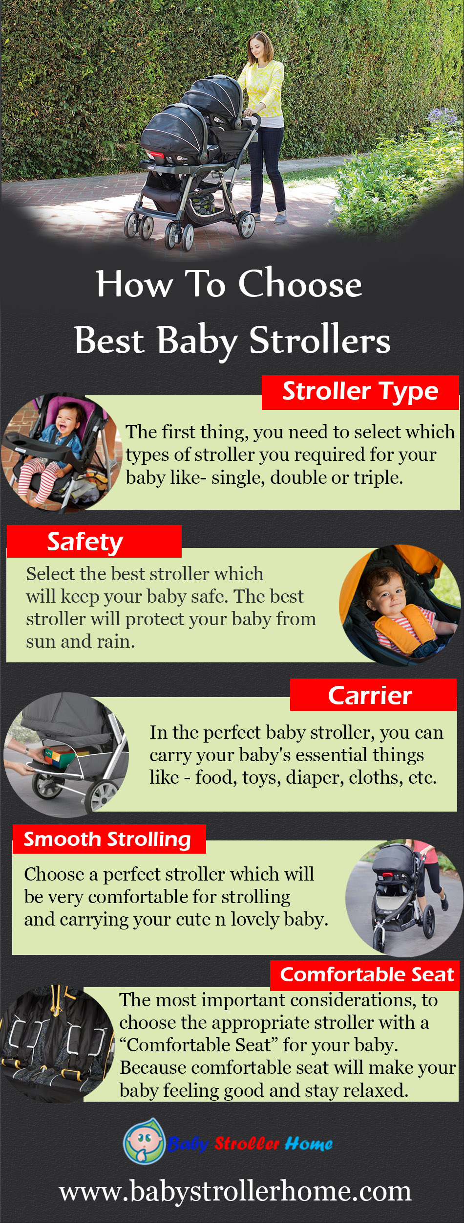 How To Choose Best Baby Strollers
