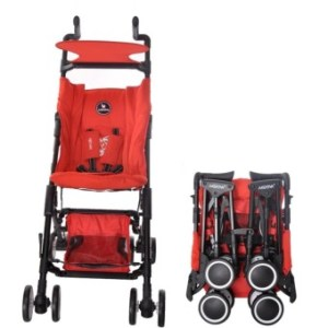 Akeeva Aerolite Pocket Stroller (Red)