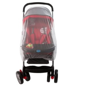 Aukey Easy Infants Baby Stroller Pram Mosquito Insect Net Netting Cover Mesh