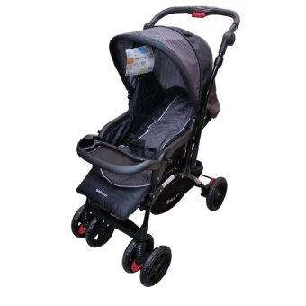 BABY 1st CD-B032RD Stroller with Car Seat Black