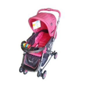 Baby 1st Stroller with Reversible Handle and Rocking Feature S-036CR (peach)
