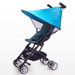 Baby Stroller Awning Universal Type Full Canopy Umbrella SunshadeSunscreen Cover - intl