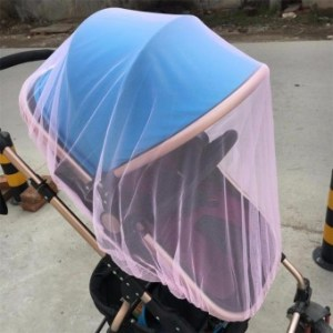 baby stroller mosquito net full-covered insect net prevent mosquitobite polyester mesh net - intl