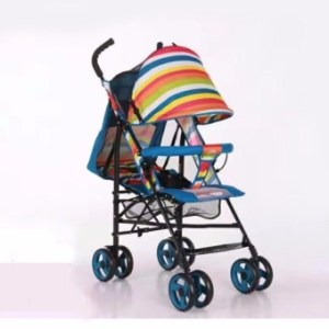 Baby Strollers Ultra-Portable Child Carts Kids Trolley 5102 (Blue)