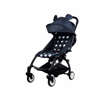 BM Stroller Foldable Mickey (Black)