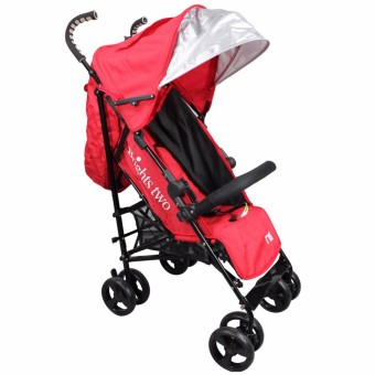 Brights Two Baby Stroller Umbrella Style (Red) - Baby ...