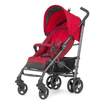 Chicco Liteway 2 Stroller (with Bumper Bar Stroller) - Red