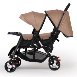 Horse Hooves Baby Cart Light Fold Around Can Seat Lie DoubleTrolley Baby Stroller - intl