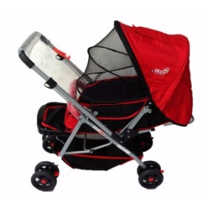 IRDY S0829A Stroller with Mosquito Net (red)