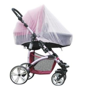 Kuhong Summer Safe Baby Carriage Insect Full Cover Mosquito Net Baby Stroller Bed - intl