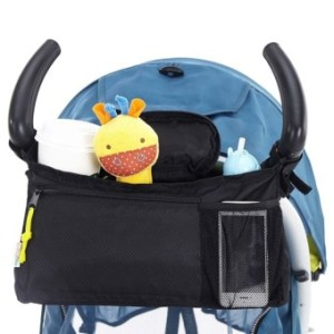 Multi-functional Baby Stroller Pram Hanging Milk Bottle Cup Diaper Holder Organizer Storage Bag Pouch Mother Shoulder Bag