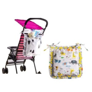 Stroller Organizer Bag Universal Fit For Cup Holders DiaperBags
