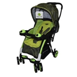 Toy Collections Apruva Folding Deluxe Baby Stroller with Reversible Handle (Green)