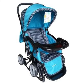 Toy Collections Baby 1st S-037RC Rocking Stroller with Tray(Green)