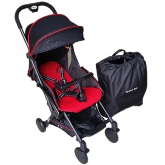 Toy Collections Baby 1st Stroller S-601A3 Red